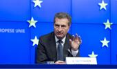 Die Brexit-Gelder fehlen uns dann ...; EU-Haushalts-Kommissar Günther Oettinger