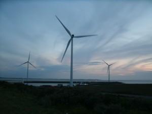 Viel Wind machen für die Energiewende ......Bild U+E