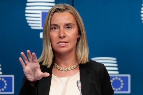 Federica Mogherini: Bestätigt den Eingang des Beschwerdebriefes  aus Iran...