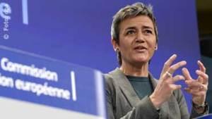 Die dänische Wettbewerbskommissarin Margrethe Vestager: Sie untersucht konstruktiv mit Tennet, wie es heißt ......