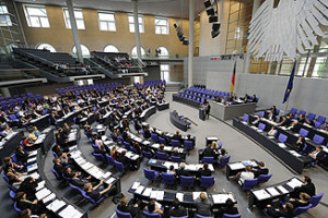 Getrübtes Klima  im Bundestag ...