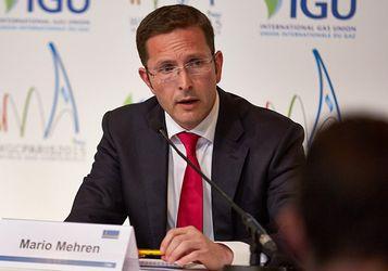Das Gasnetz ist kosteneffizienter...; ...Wintershall-Chef Mario Mehren