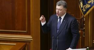 Schaltet die Heizungen runter fordert Petro Poroschenko von den Bürgern