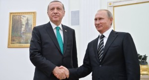 Auch sie verbindet  eine Gaspipeline: Turkish-Stream...; Erdogan und Putin