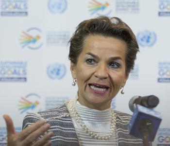 Städte spielen eine herausragende Rolle ..., Christiana Figueres