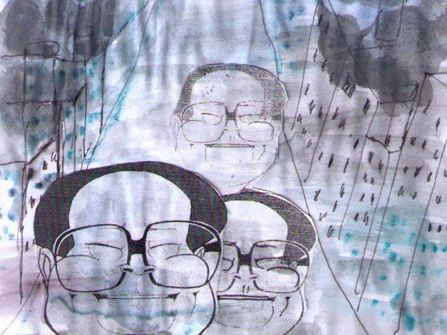 Luftverschmutzung, Alzheimer und Demenz hängen zusammen ...Was wird aus China und und und ... China hat bereits einen leichten Vorgeschmack auf eine mögliche Klimakatastrophe erhalten ...In Europa sterben jährlich rund 450 000 Menschen wegen schlechter Luft ... Karikat. U&E