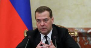 Ministerpräsidenten Dmitri Medwedew: