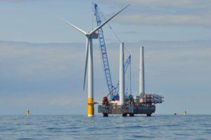 Gestaltung und Terminierung von Offshore-Wind-Ausschreibungen und Methodiken zur Bewertung der Verteilung von Kosten und Nutzen der gemeinsamen und hybriden Projekte...; bild rwe