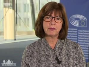 GRÜNEN-Fraktionsvorsitzende im Europa-Parlament Rebecca Harms: