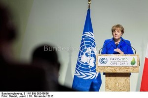 Bundeskanzlerin Angela Merkel wird bei der feierlichen Unterzeichnung des Pariser Klimaabkommens bei der UN in New York nicht dabei sein ...