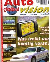 Titelbild unseres Magazins: Auto global Vision im Juni 1999