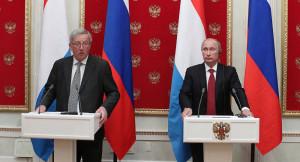 Bisher keine Einigung ...; EU-Präsident Juncker und Kreml-Chef Putin, sie kennen sich gut , einig sind sie sich in Sachen Nord-Stream 2 nicht bild sputnik Wladimir Klimantiev