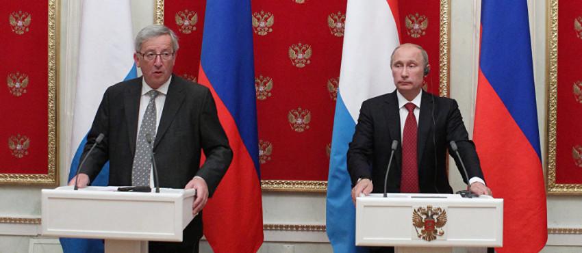 EU-Präsident Juncker und Kreml-Chef Putin, sie kennen sich gut , einig sind sie sich in Sachen Nord-Stream 2 nicht bild sputnik Wladimir Klimantiev