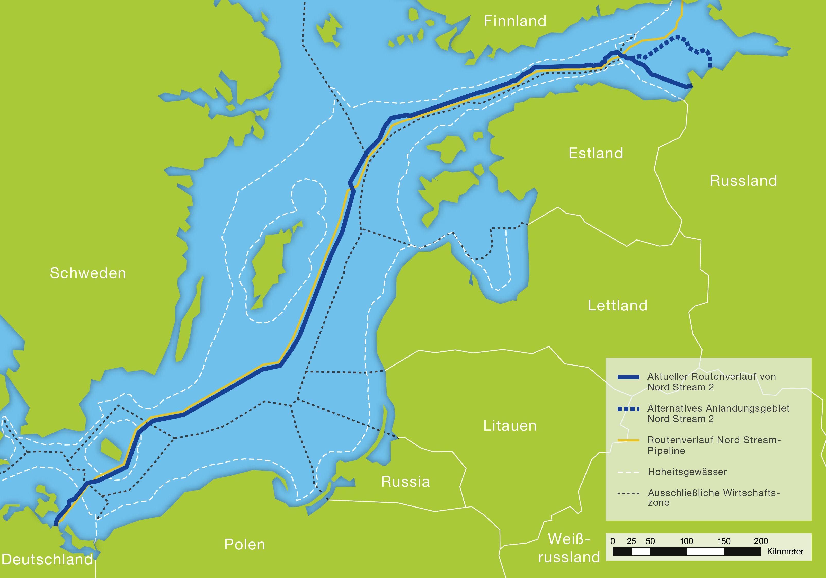 Nord Stream 2 Karte.Gezielte Kritik Gegen Gaspipeline Nord Stream 2 Umwelt