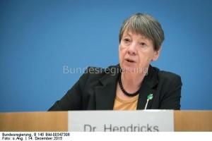 Bundesumweltministerin Barbara Hendricks: Ihr Klimaschutzplan und seine Behandlung stehen in massiver Kritik