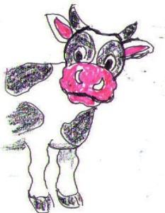"""""""...die Tierbestände in Deutschland entwickeln sich bereits jetzt rückläufig.. .....!"""" Karik. U+E"""