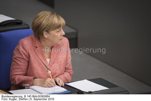 Uns verbindet die atomare Zusammenarbeit und der größte deutsche Atomskandal ...; Angela Merkel