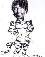 Als Tiger gestartet ... (karik. U&E pointer