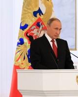 Putins fordert Regierungschef Medwedew ...Bild SputnikMikhail Klimentyev