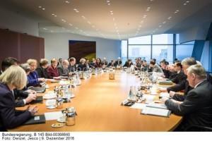 Das Kabinett hat am Mittwoch, 14.Dezember, den wenig erfreulichen