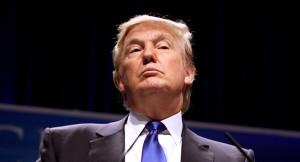 Mit ihm und seinem Hochmut in Form von Sanktionen muss man immer rechnen ...; Donald Trump