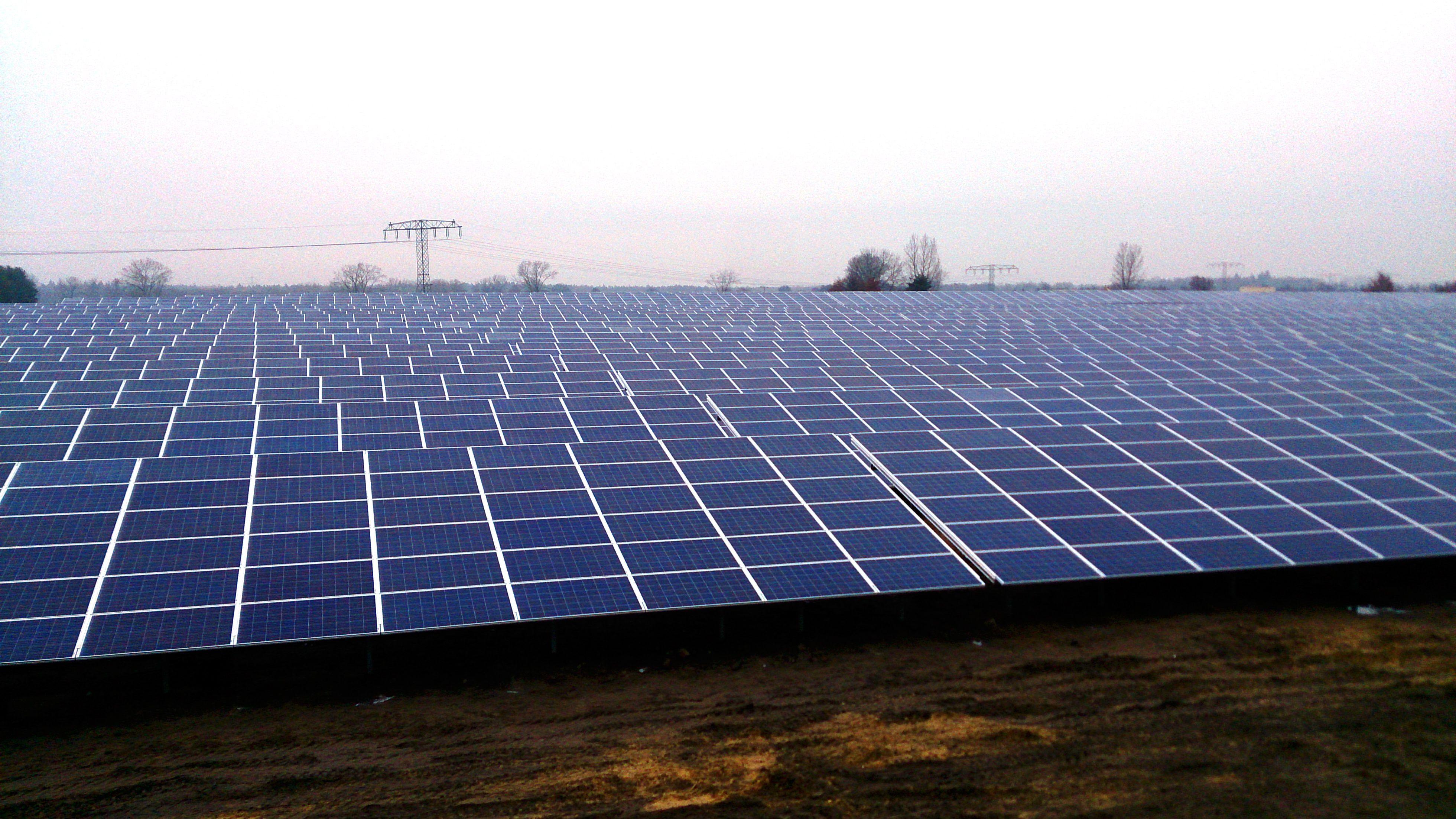 Keine Schutzzölle mehr auf Solarmodule aus China...?Trianel Solarpark: