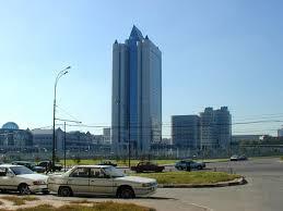 Sitz des Gazriesen Gazprom in Moskau