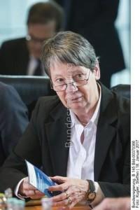 Sie übernimmt für die Bundesregierung die Federführung für bessere Luftqualität; Bundesumweltministerin Barbara Hendricks
