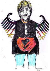 """Kanzlerin Merkel: Ist die Pipeline nun ein Teufelszeug oder der """"Rettungsring""""...?"""