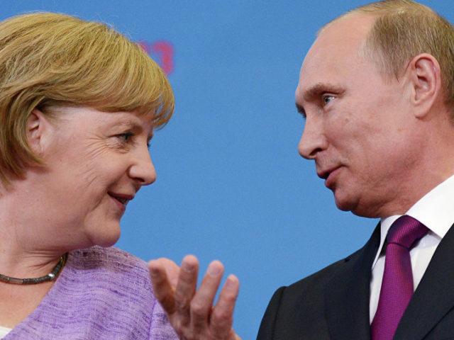 Nur wenn es sich wirtschaftlich rechnet ...?? Wladimir Putin und Angela Merkel