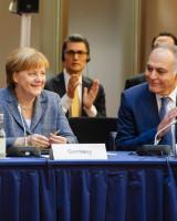 23.05.17 Petersberger Klimadialog Merkel Hendricks