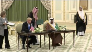 """Großartig für die Öl- und Gasindustrie! ?""""... ...; Mohammed bin Salman, und """"The Donald"""" Trampel Trump"""
