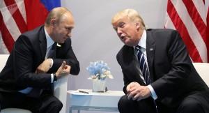 Bemerkungen im stillen verhandlungsstübchen?: Reicht es Dir immer noch nicht ...? fragt Putin noch lächelnd den US-Präsidenten Donalsd Trampel Trump und erklärt: Die Folgen lassen nicht auf sich warten ...