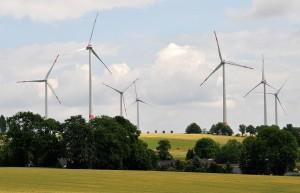 """""""...Auch im ersten Halbjahr 2020 spielte die Windenergie eine entscheidende Rolle ..., """"; Bild U+ E"""