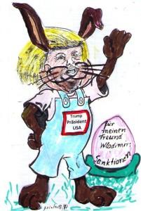 31.07.17 Karikatur Trump Osterhaase