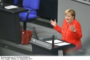 unverzichtbar für den Umweltschutz; Kanzlerin Angela Merkel im Bundestag