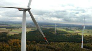 Die Privilegierung ist seit Jahren ein anerkannter und bewehrter Grundsatz...; rianel-Windpark Grünberg in Hessen..., bild trianel