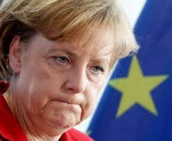 Die Frage an die Chefin des deutschen Klimakabinetts ......; Kanzlerin Angela Merkel