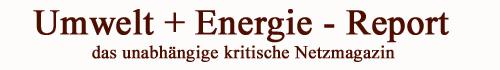 Umwelt+Energie-Report