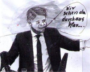"""Wir sehen da durchaus klar ...oder auch gar nicht!, angeblicher """"Umwelt""""-Sprecher der AFD, Karik U+E"""