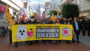 """""""...denn das heißt, dass auch RWE für die Uranmüllexporte nach Russland keine Verantwortung übernehmen möchte...."""""""