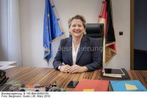...eine gute Nachricht, dass es die einzig sinnvolle Maßnahme ist, erklärte ihr Sprecher ..., Svenja Schulze