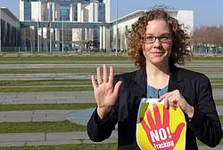 . .Der sogenannte graue Wasserstoff aus Kohlestrom ist aber klimapolitisch noch schlechter als Benzin oder Heizöl..; Julia Verlinden