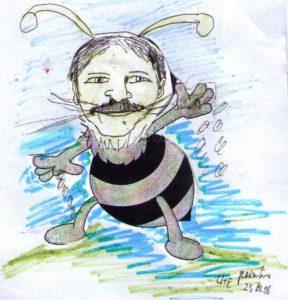 Auch den Bienen und Insekten soll es besser ergehen ... hier Staatssekretär Martin Gorholt