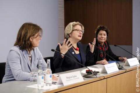 """""""Wann kann ich denn endlich mein Klimaschutzgesetz präsentieren...?""""...; Svenja Schulze"""
