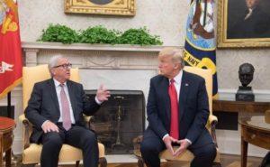 """Flüssiggas aus USA ... """" aber die Preise müssen stimmen, werter Herr"""",... Donald Trump und Jean Claude Juncker"""