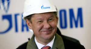 Da lacht er doch immer noch...;   Gazprom-Chef Alexej Miller