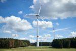 Zweitstärkste Energiequelle ...; Windpark Höhn .. drei Windräder liefen bereits zwei sind hinzugekommen ...; Foto: Sascha Ditscher/evm