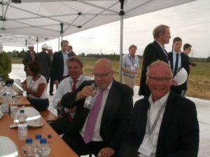 .Das Wettbewerbsniveau ist erneut deutlich gesunken......; Bundeswirtschaftsminister Peter Altmaier und Jochen Homann, Präsident der Bundesnetzagentur, bild Umwelt + Energie-Report