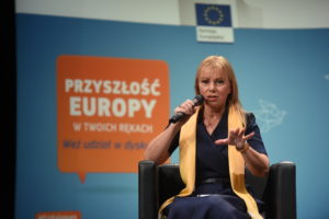 Wir haben die Spielregeln grundlegend geändert ...;EU-Industriekommissarin Elżbieta Bieńkowska.